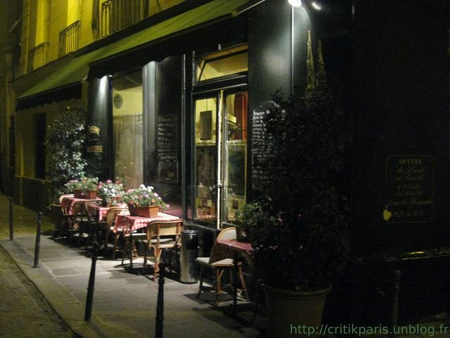 critique au bon saint pour ain rue servandoni resto pour touristes am ricains critik paris. Black Bedroom Furniture Sets. Home Design Ideas