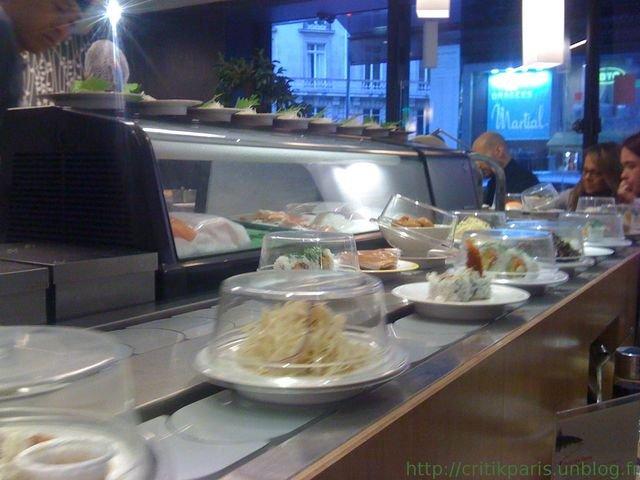 Critique matsuri passy coupelles et tapis roulant - Restaurant japonais tapis roulant paris ...