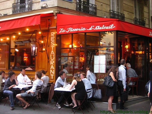 pizzeria a paris