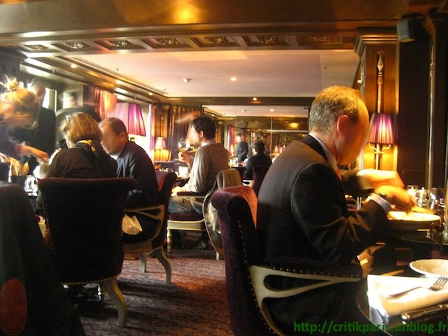 Critique : Restaurant First Boudoir, Hôtel Westin. La Fourchette. Paris. dans Coups de coeur First-Westin-1
