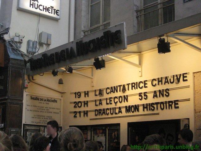 Critique : Théâtre Huchette - Ionesco. La cantatrice chauve.  dans Coups de coeur Th%C3%A9%C3%A2tre-de-la-Huchette-Ionesco