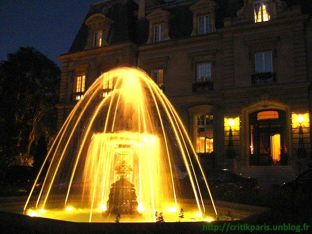 Hôtel Saint-James, Paris 16. Club privé, dans quartier bourgeois. dans Luxe Hotel-St-James-1