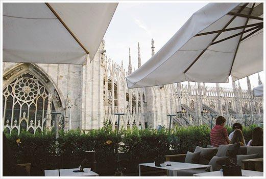 Rooftop Il Bar - La Rinasecente Milano. Devant le Duomo. dans Bars & Cafés rooftop-rinascente-milano-1