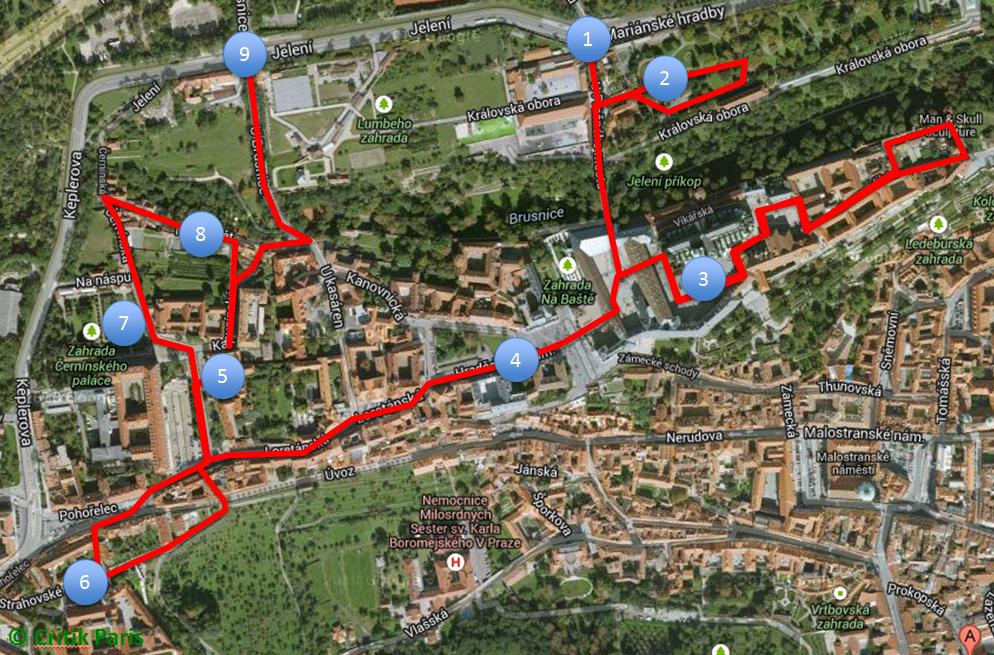 Itinéraire 3 - Prague