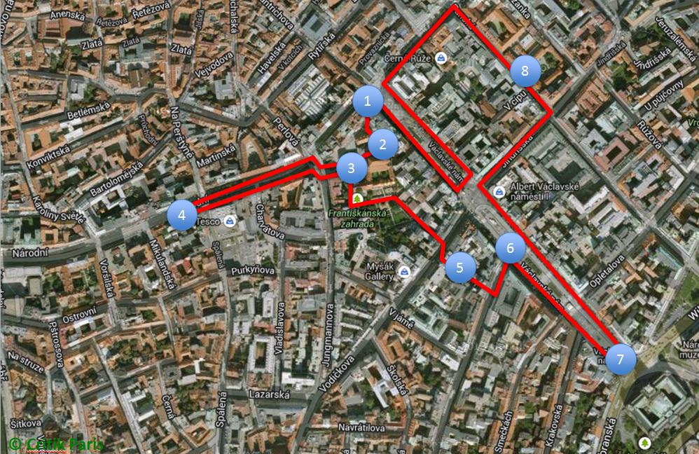 Itinéraire 4 - Prague