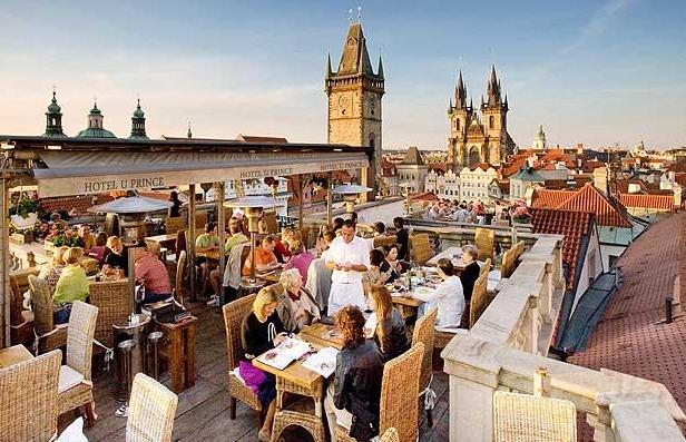 Rooftop Hotel U Prince Prague